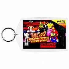 Super Nintendo Snes SUPER MARIO RPG LEGEND SEVEN STARS Game Box Cover Keychain