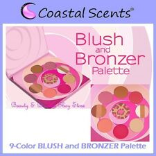 NEW Coastal Scents 9-Color BLUSH and BRONZER Palette FREE SHIPPING Highlighter