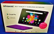 "BRAND NEW Polaroid 10.1"" Android 6.0 Marshmallow Tablet + Wireless Keyboard"