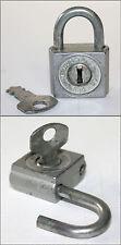 Vintage Padlock Lock TOKOZ-3 Made in Czechoslovakia w/key 1970's