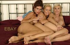 "Mature Woman - Busty Wife, Lesbian Seductive  ,Grannies  4""x 6"" Photo"