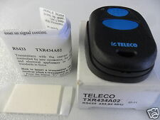 TELECO TXR 434 A02 RADIOCOMANDO MINI HANDSENDER RS 433,92 AM Mhz Wireless CE0499