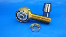 RH 1-1/4 x 9/16 Bore Single End,Chromoly Rod End,Heim Joints(Bung 2 x.250) Flex
