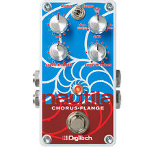 DigiTech Nautila Digital Chorus Flanger Guitar Keyboard Effects Stompbox Pedal