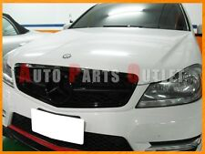 2008-2013 M-BENZ C204/W204 C-Class 2Dr/4Dr Gloss Black C63AMG Look Front Grille
