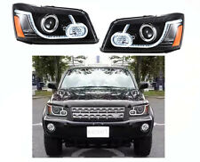 Vland For Toyota Highlander Kluger 2001-2007 LED DRL Halo Projector Front Lamps
