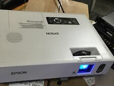 Epson PowerLite 1810p LCD Projector Working Lamp Hours 691 W Bag