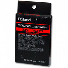 Roland SN-U110-15 Super Brass card U-220,CM-64,CM-32P,D-70,MV-30,mod 660/760