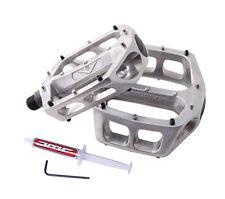 DMR V8 Classic Flat Flattie MTB Pedals - Silver