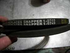 Snapper replacement belt lot 1-0749 1-8236 1-4525 parts lot