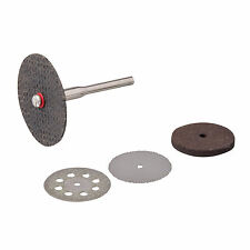 Silverline Cutting Disc Kit 5Pc 3.1mm Mandrel 783161 For Dremel Rotary Tools Ect