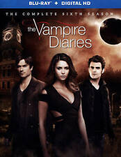 NEW The Vampire Diaries: The Complete Season Six (Blu-ray Disc, 2015, 4-Disc)