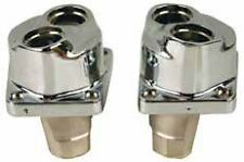 CHROME TAPPET BLOCKS EVOLUTION EVO HARLEY SOFTAIL FLST FLSTC FLSTN HERITAGE