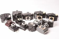 Lot of 13 vintage cameras in Bakelite. Kodak, Agfa, Ilford ...
