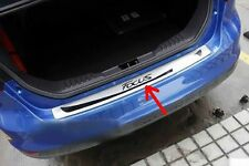 Stainless Steel Rear Bumper Protector Sill Plate for Ford Focus 2011-2015
