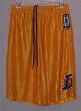 NBA Los Angeles Lakers Team Logo Basketball Shorts Gold M