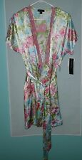 New, Jones New York Intimates Robe Summer Bouquet Wrap Style Large/XLarge