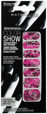 Maybelline Fashion Print Nail Stickers - Fierce Snake - Pink