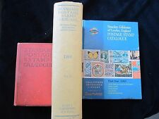 Make an offer! Lot of 3 stamp reference books/catalogues