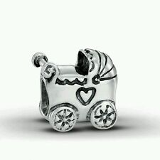 Authentic Pandora baby carriage charm/bead 790346