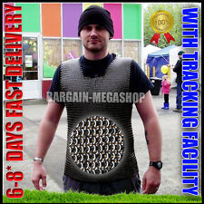 Sleeveless Chainmail Shirt, Medieval Chain Mail Vest, Armor Chainmaille vest SCA