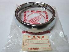 Honda CB125T SS1 RIM HEADLIGHT 33101-399-003 NOS