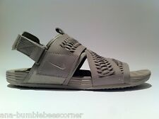 NIKE 'Air SolarSoft ZigZag Woven QS' ACG Taupe MEN Sandals US11 NEW [850588-200]