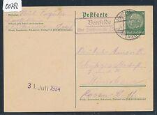 00796) Landpost Ra2 Beerfelde über Fürstenwalde (Spree) GA 1934