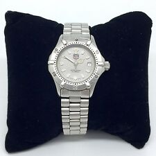 Tag Heuer 2000 Womens Watch Silver Stainless Steel Bracelet Ladies TAG WE1411-R