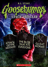 Goosebumps: Blob That Ate Everyone / Go Eat Worms DVD, free shipping