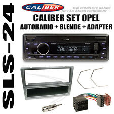 Opel Astra Corsa Vectra B Radio USB SD ISO Adapter Blende Antenne Adapter silber