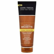 4 x John Frieda Brilliant Brunette Visibly Brighter Conditoner 250ml