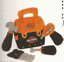HARLEY-DAVIDSON Baby My First Harley Tool Kit - Soft Toy Gift Set