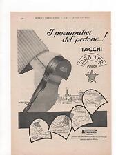 Pubblicità vintage PIRELLI TACCHI SCARPE SHOES old advert werbung publicitè B9