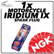 1x NGK IRIDIUM IX BUJIA PARA HYOSUNG 125cc RX125D SM (DOHC motor) 07 - #4218