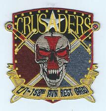 "C CO 1-158 AVN REGT  ""CRUSADERS"" patch"