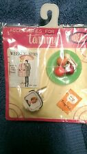 Ideal Accessories for Tammy TV, TV program, Magazine, Plate of Food