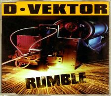 D-Vektor - Rumble - CDM - 1998 - Italodance Techno Hard House Panic Records Rare