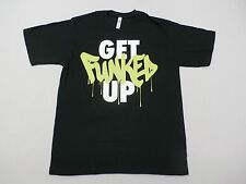Zumba Wear Men's Get Funked Up Graphic Logo Black One Size Fits Most NWT $32
