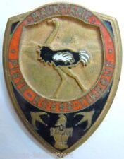 Insigne Sahara 1939 Génie de Mauritanie PISTE ROSSO TINDOUF Original déposé WWII