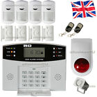 Security Wireless GSM Autodial House Home Burglar Intruder Fire Alarm
