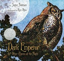 DARK EMPEROR and other poems of the night (Brand New Hardcover) Joyce Sidman