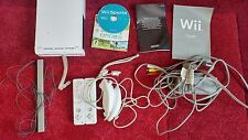 Nintendo Wii console bundle includes controllers and game FOR SPARES OR REPAIRS