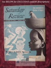 Saturday Review October 18 1952 CARIBBEAN GEORGE SANTAYANA IRWIN EDMAN