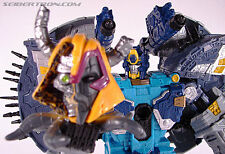 G1 Transformers Cybertron Primus with Unicron Head (Convoy Prime RID)