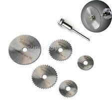 6pc Circular Saw Mandrel Cutting Cutter Disc Blade Dremel Drill Bit Rotary Tool