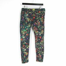 28 - MOTHER Magical Forest Patterned Skinny Leg LOOKER Jeans NEW $295 0721DK