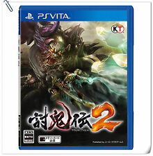 PSV Toukiden 2 JAPANESE 討鬼伝2 中文版 SONY PLAYSTATION VITA Koei Tecmo Action Games