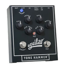 Aguilar Tone Hammer Bass EQ Effect Pedal. U.S. Authorized Dealer (Used)
