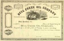 18_ Bull Creek Oil Stock Certificate